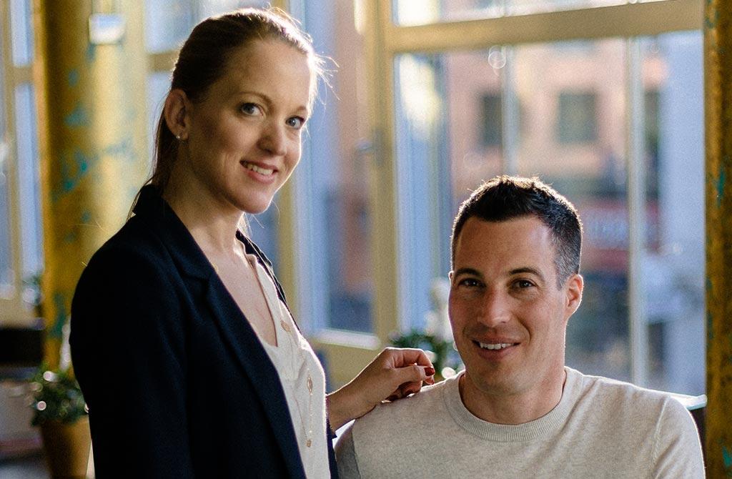 Francesca und Jan Saner